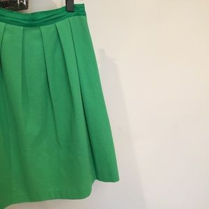 Ofuon Kelly Green A-line Skirt size Small US